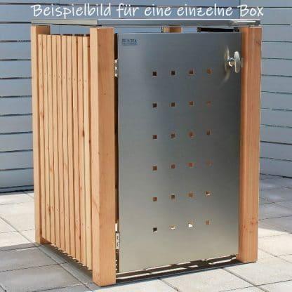 Mülltonnenbox für 1 Tonne