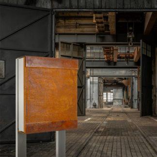 Keilbach Briefkasten Glasnost iron