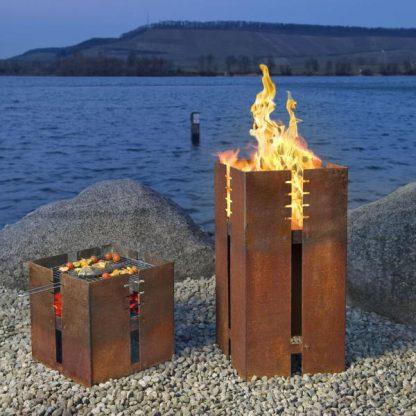 Feuerstellen Fidibus und Ferrum