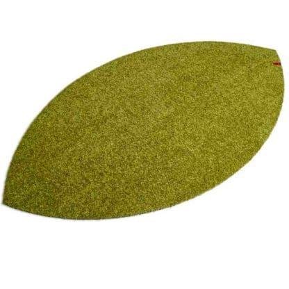 Fußmatte Blattform grün