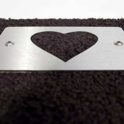 Fußmatte Heart mit Herz