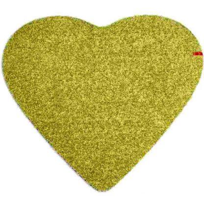 Fußmatte Herz grün