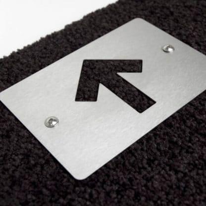 Fußmatte Straight