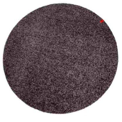 Keilbach Fußmatte rund dunkelgrau