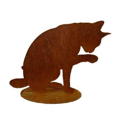 Süße Katze Edelrost