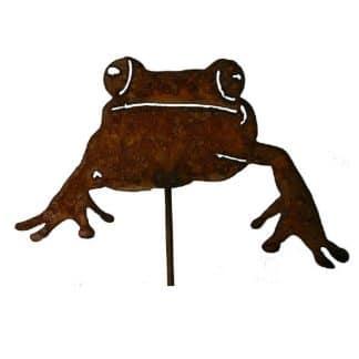 Gartenstecker süßer Frosch