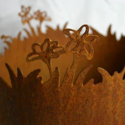 Pflanzgefäß Blumenwiese
