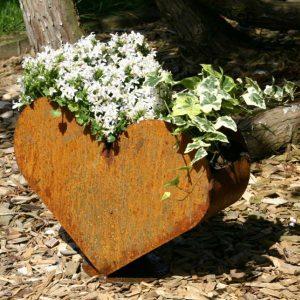 Pflanzgefäß Herz
