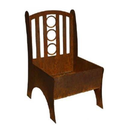 Pflanzgefäß Stuhl