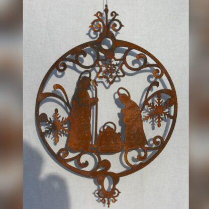 Wandbild Krippe zum Haengen