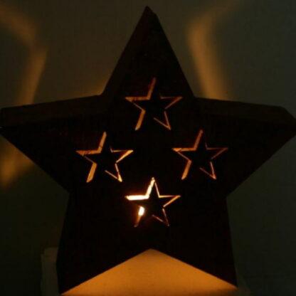 Metalldeko großer Stern