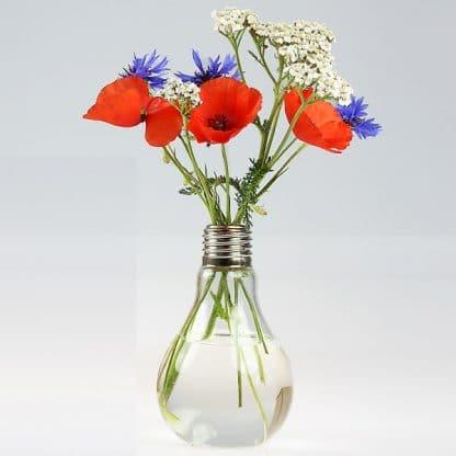 Blumenvase Green Bulb