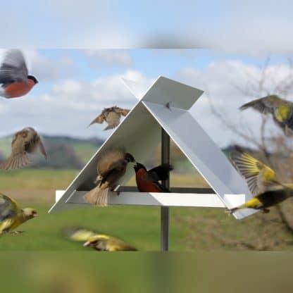 Moderne Vogelhäuser