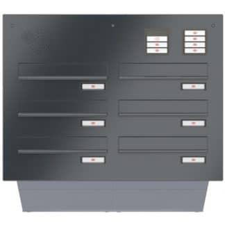 Briefkastenanlage von Renz - Türseitenteil