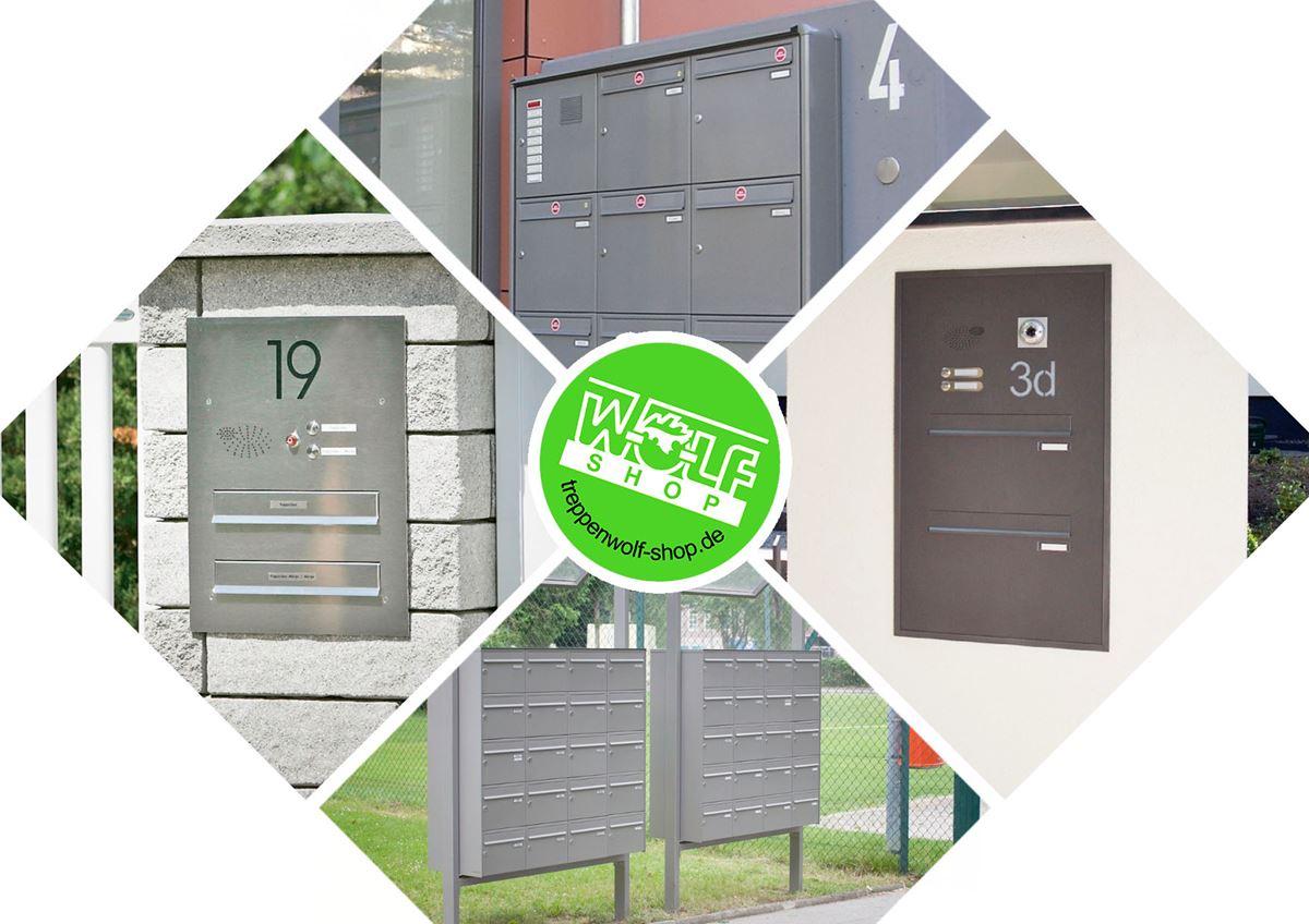 Baukasten für Briefkastenanlagen von Knobloch